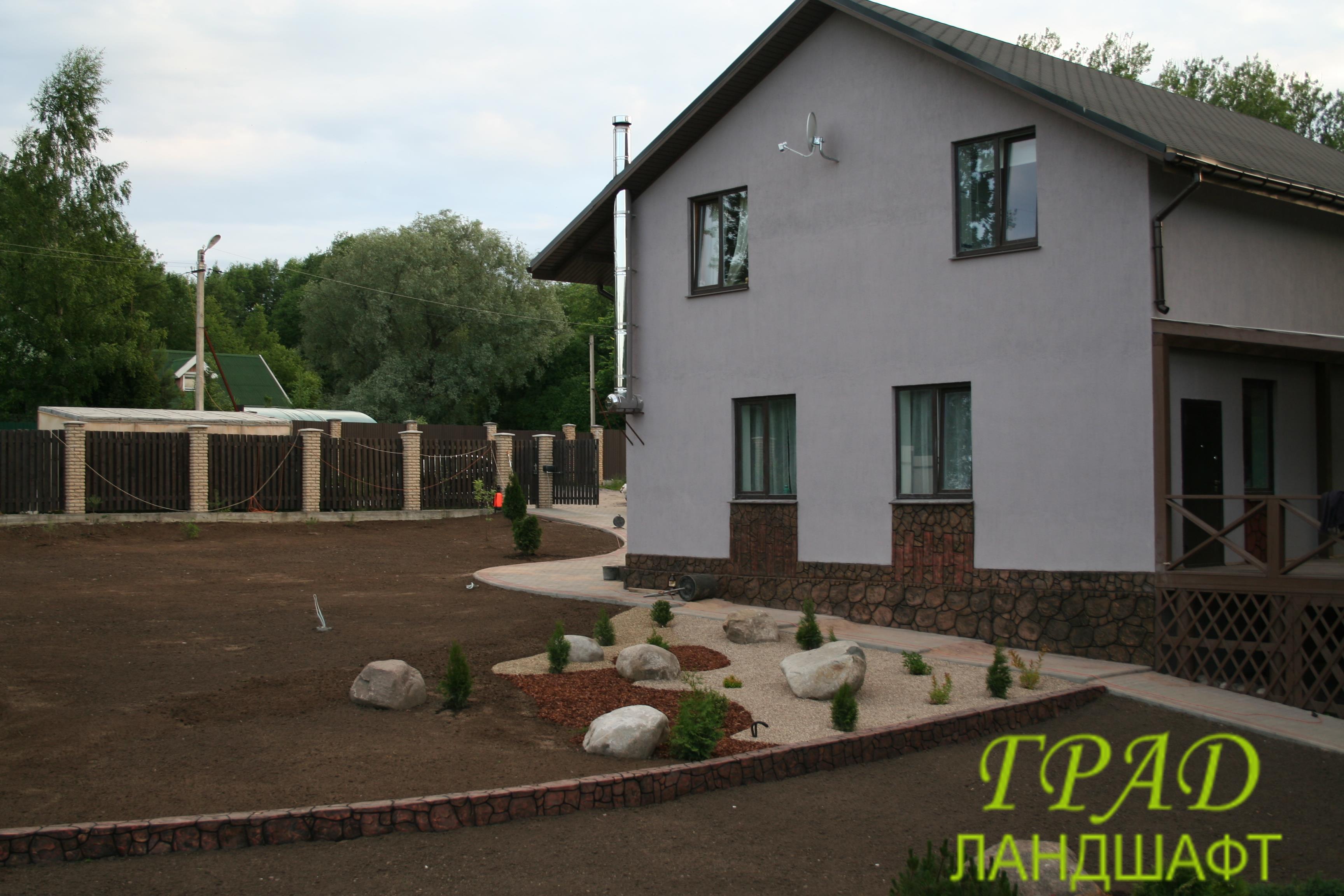 Проект в поселке Рощино